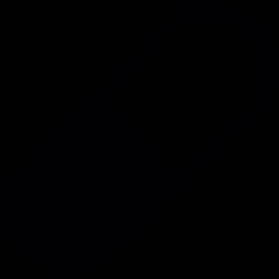 Medical pill vector logo
