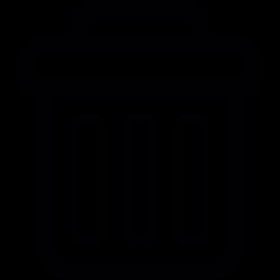 Dustbin vector logo