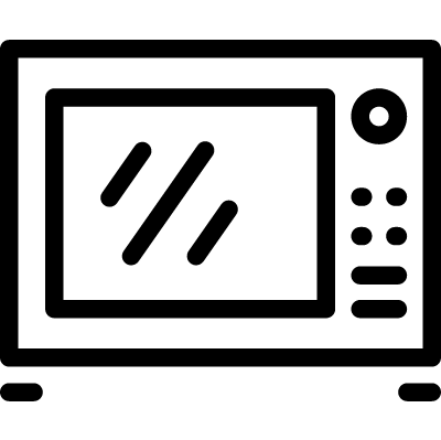 Microwave Oven vector logo