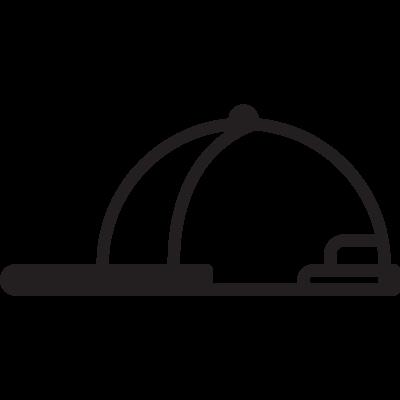 Jockey Cap vector logo
