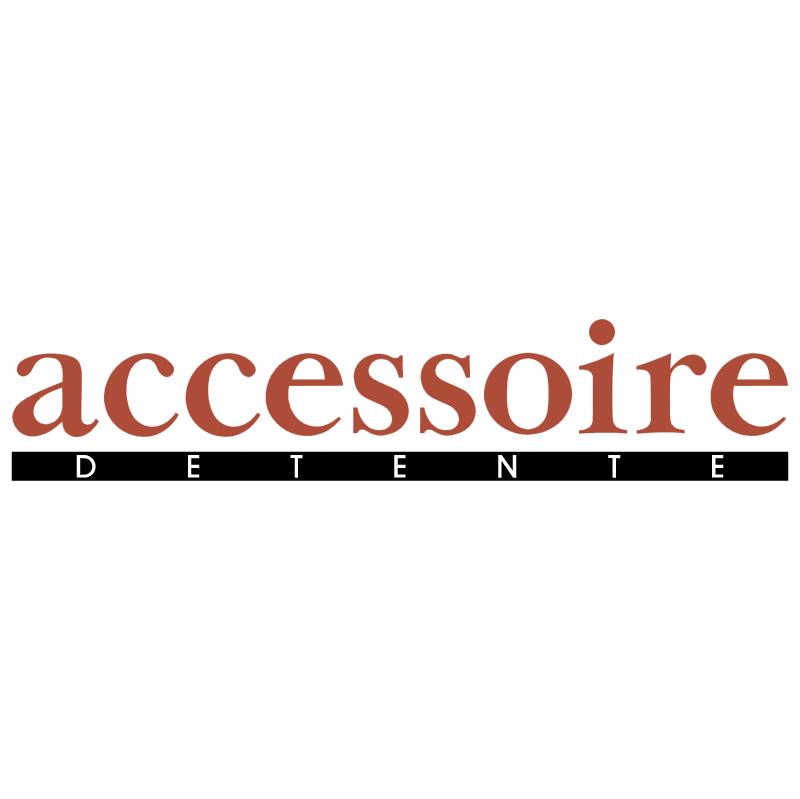 Accessoire Detente vector