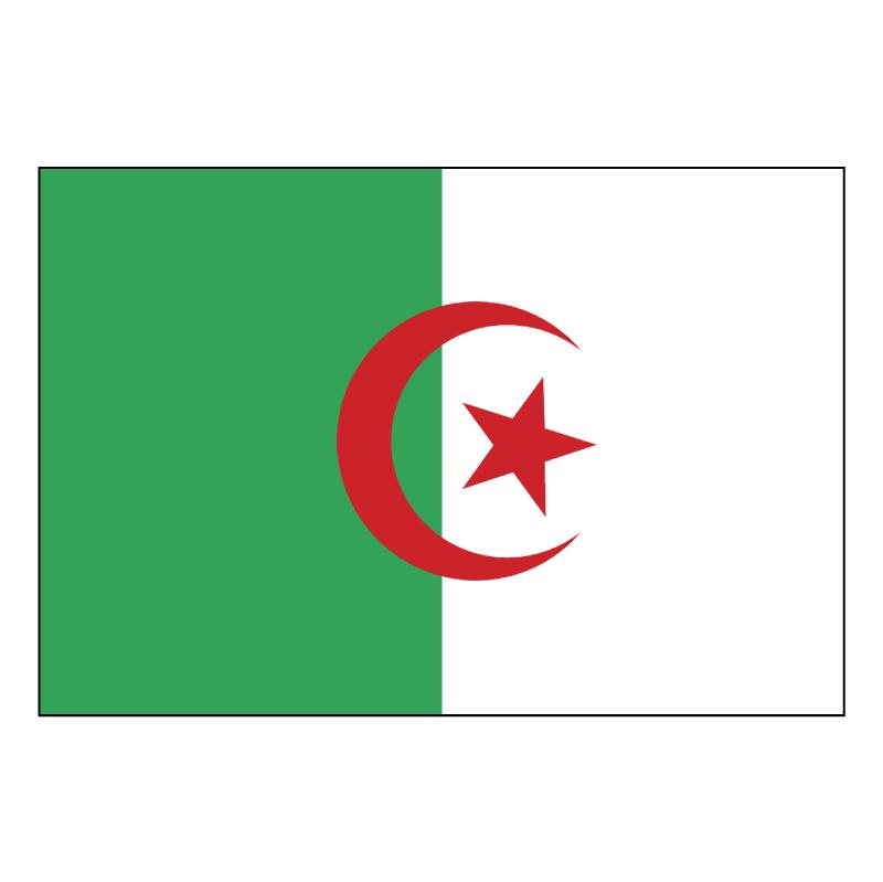Algerie Drapeau vector