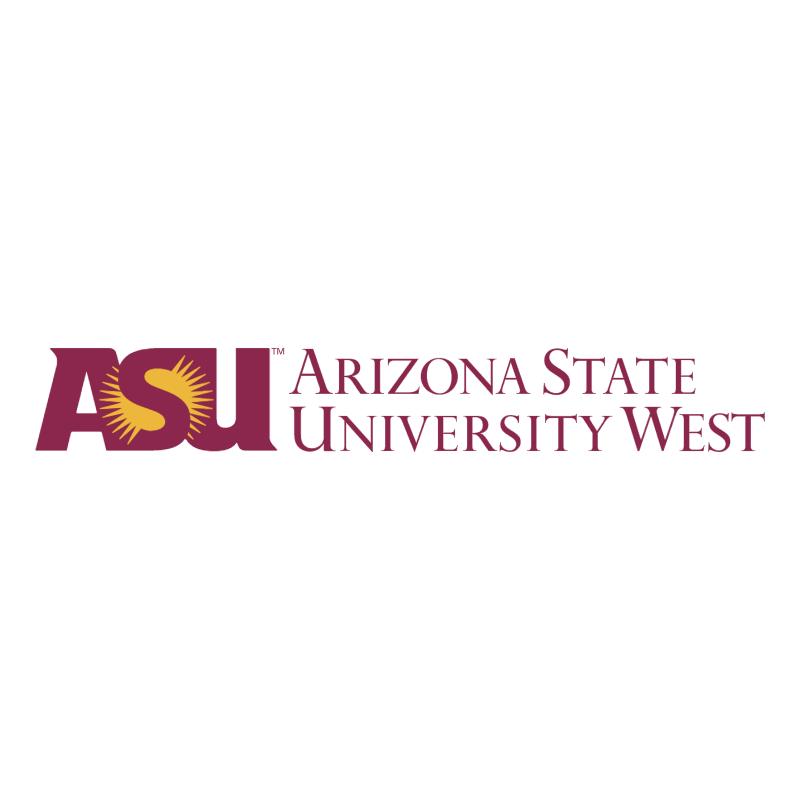 ASU West vector logo