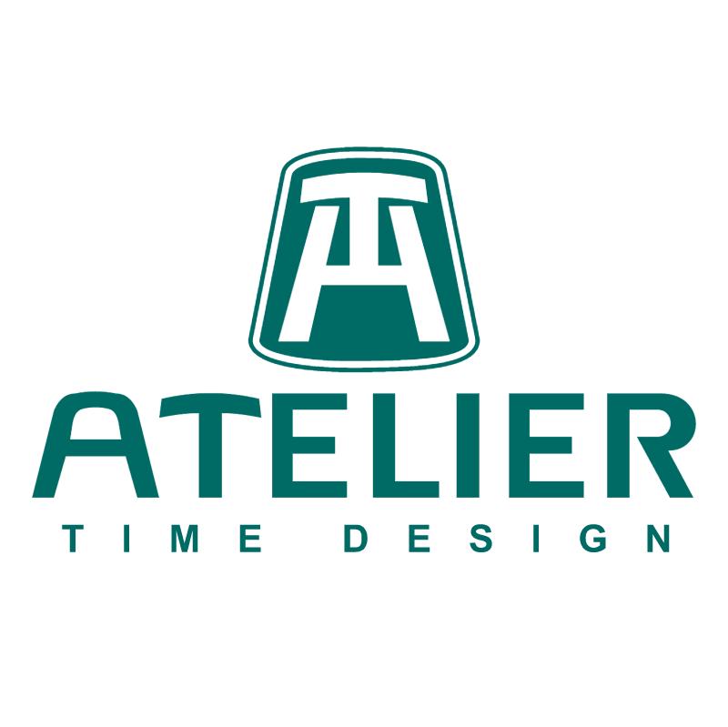 Atelier time design vector
