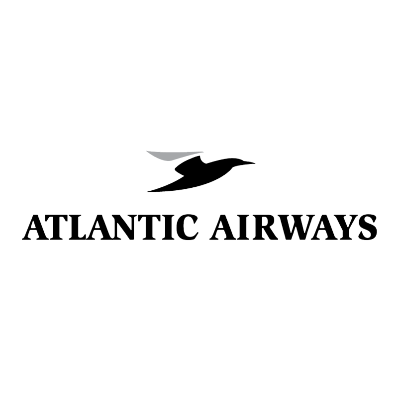Atlantic Airways 61850 vector