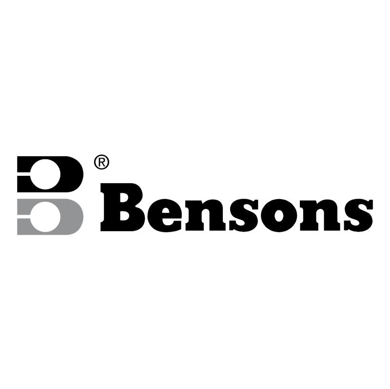 Bensons 55174 vector