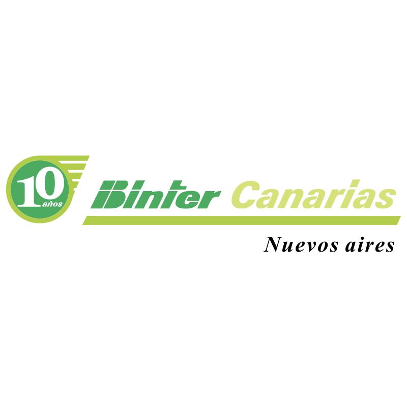 Binter Canarias vector logo