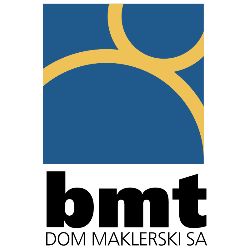 BMT Dom Maklerski 15231 vector