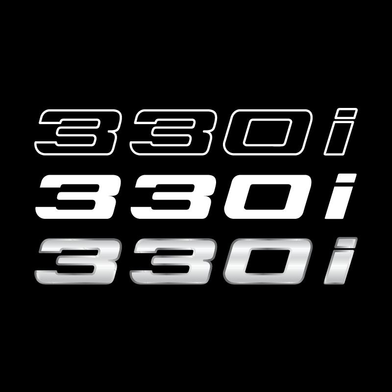 BMW 330i vector