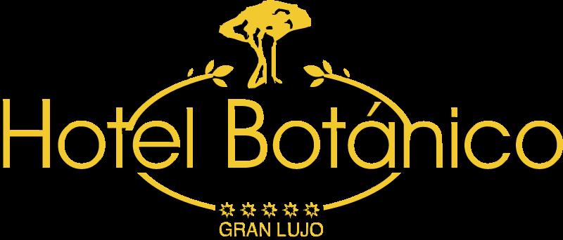 Botanico hotel logo vector