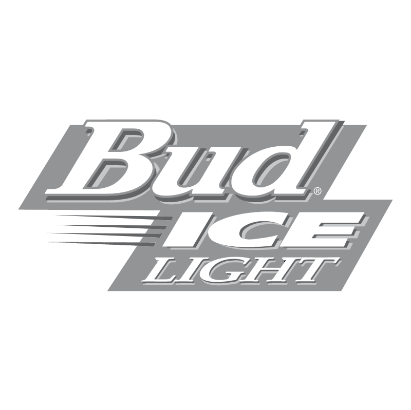 Bud Ice Light vector