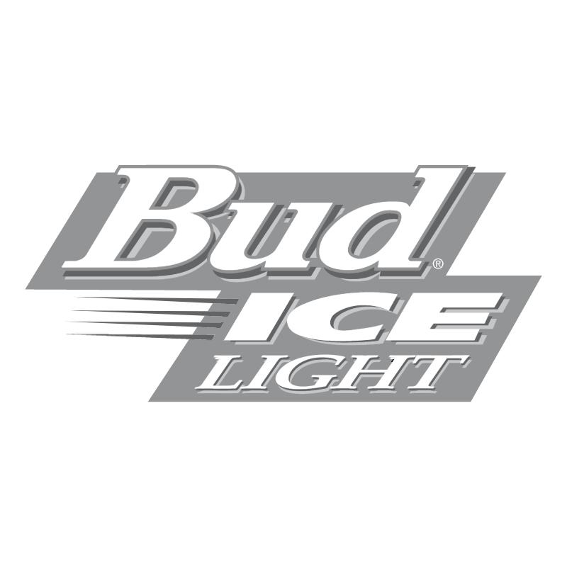 Bud Ice Light vector logo