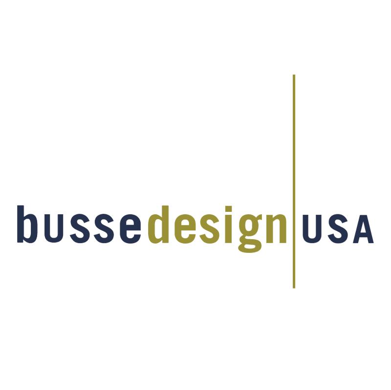 Busse Design USA vector
