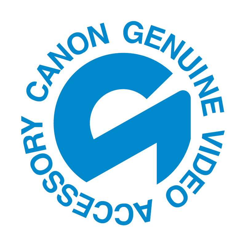 Canon Genuine Video Accessory vector