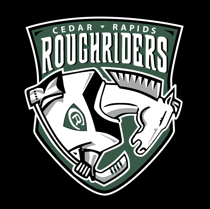 Cedar Rapids RoughRiders vector