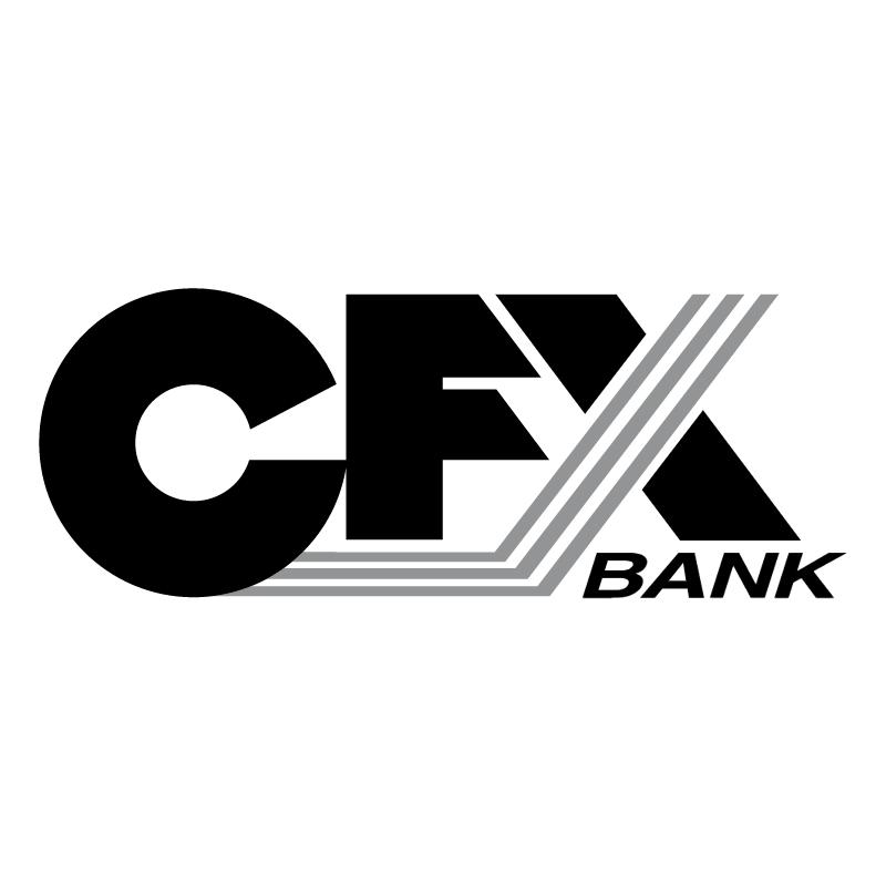 CFX Bank vector logo