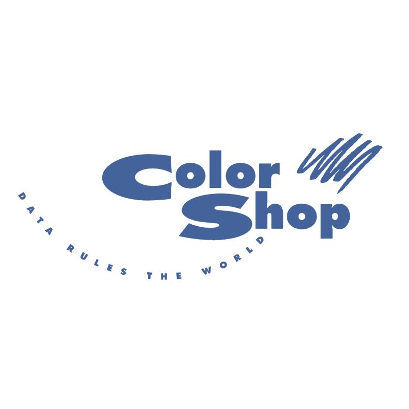 Color Shop vector