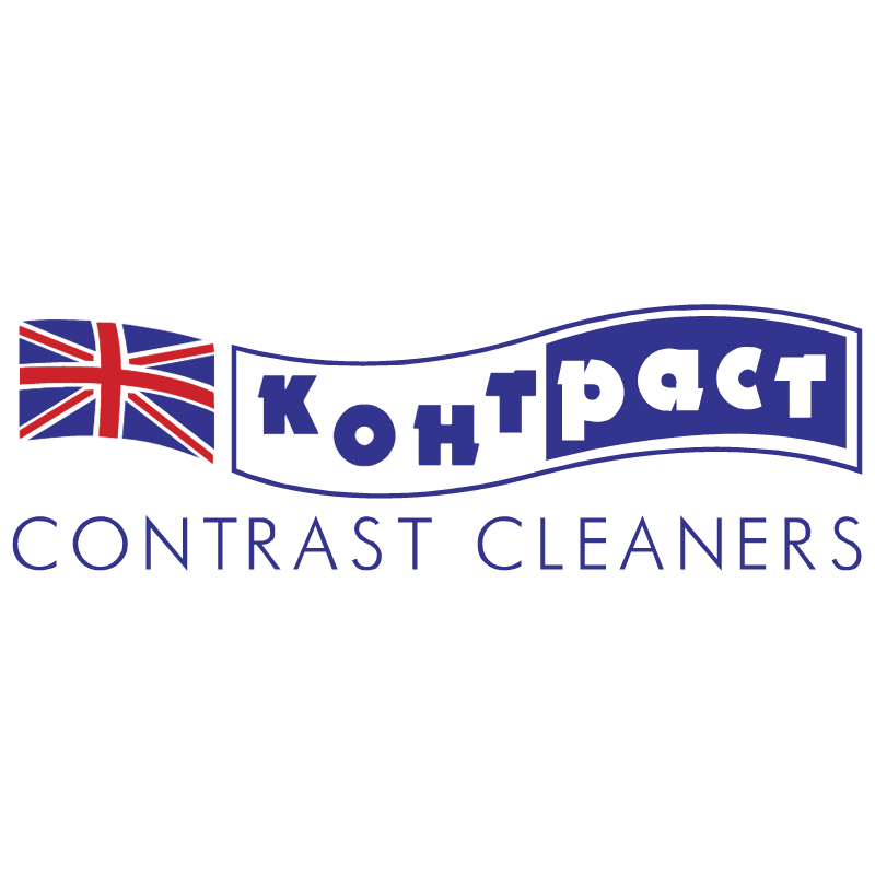 Contrast Cleaners vector