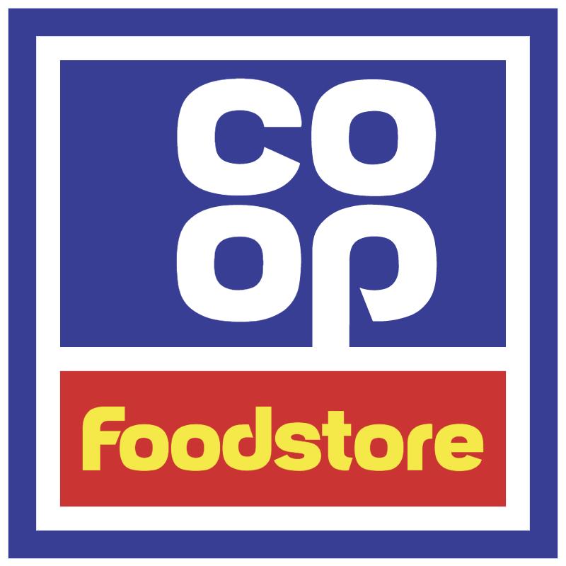 Coop Foodstore 1296 vector
