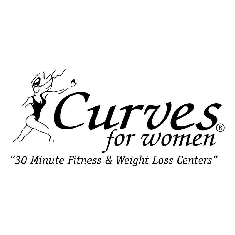 Curves For Women vector