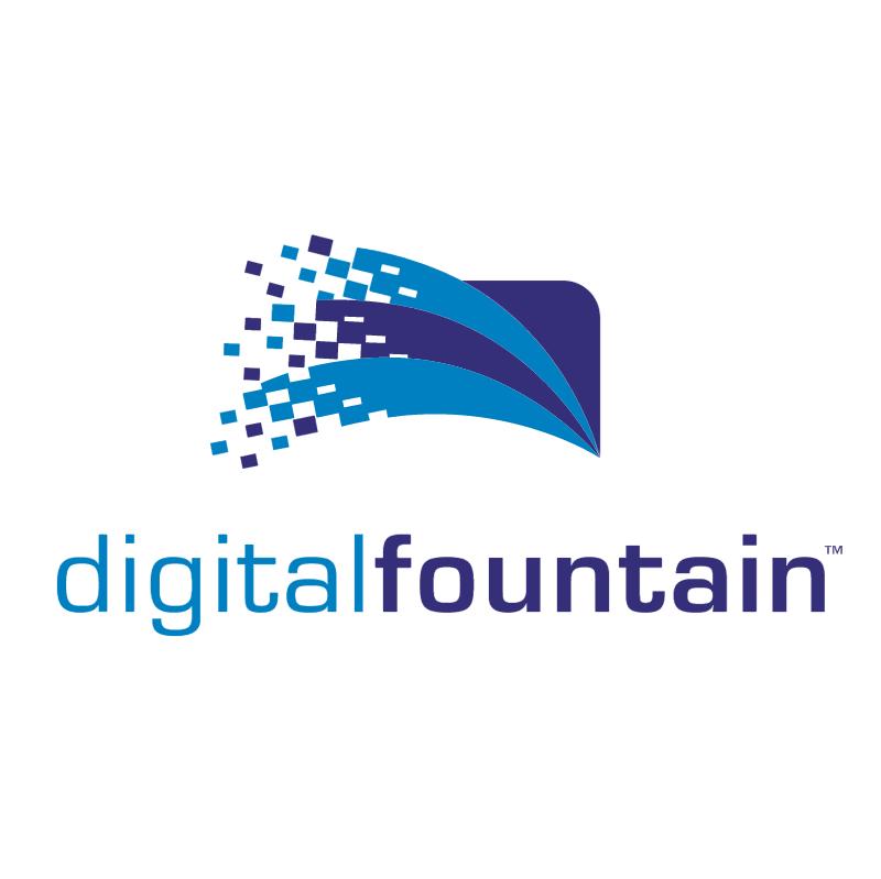 Digital Fountain vector