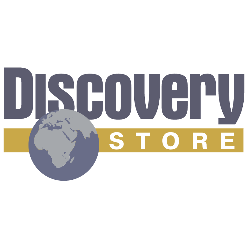Discovery Store vector logo
