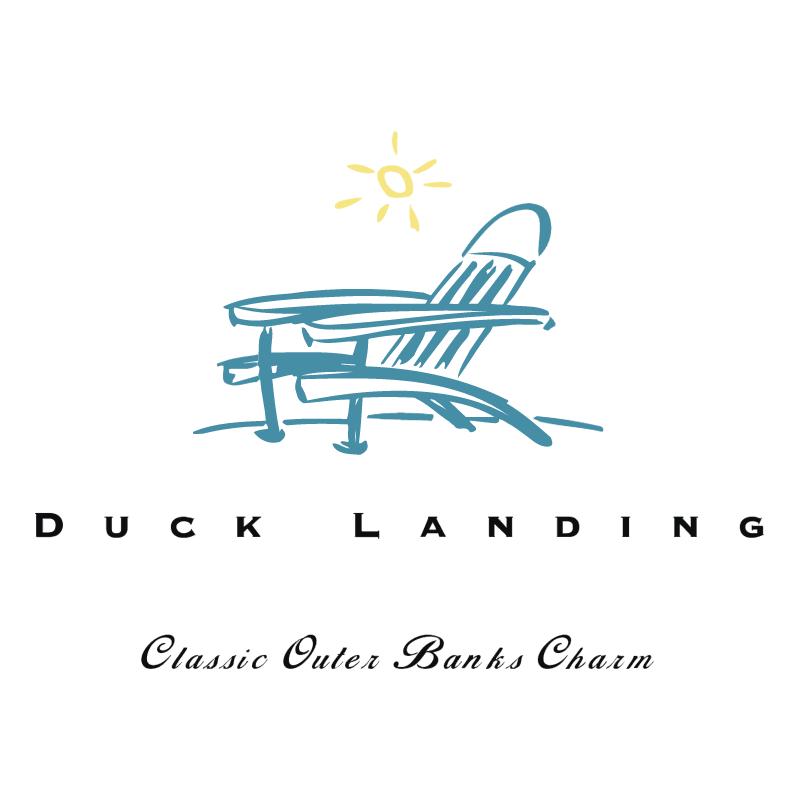Duck Landing vector