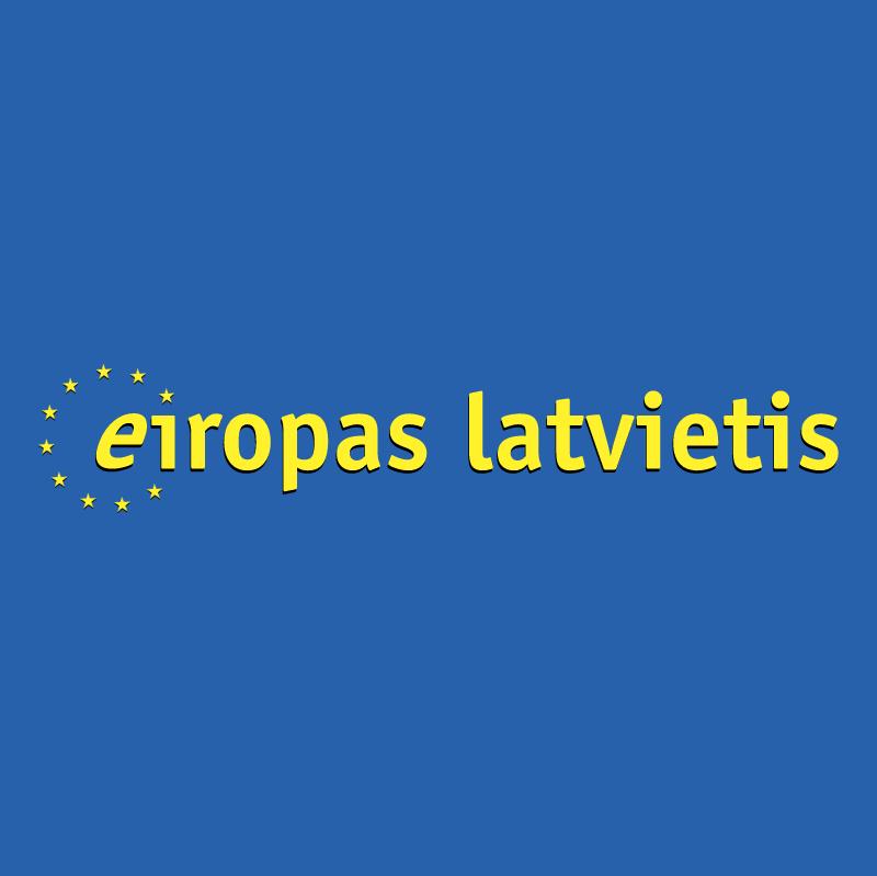 Eiropas Latvietis vector