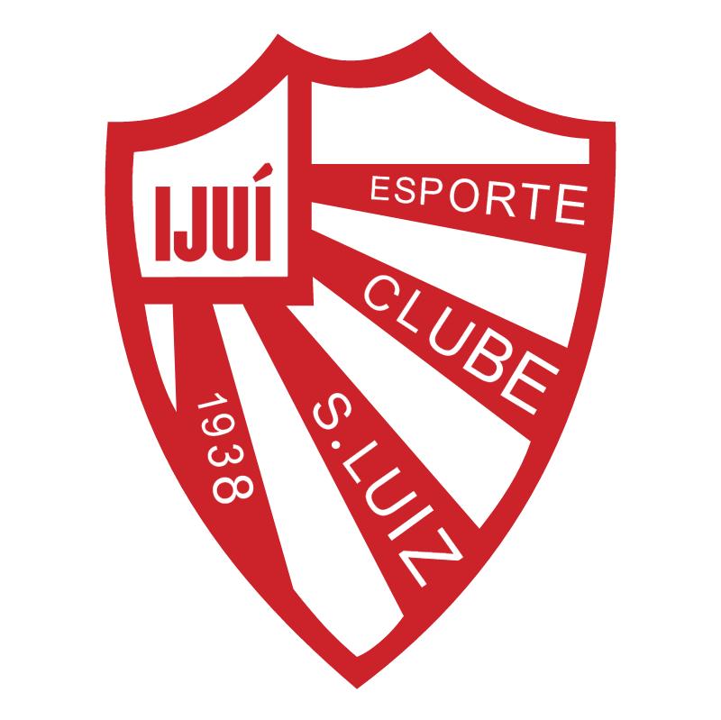 Esporte Clube Sao Luiz de Ijui RS vector