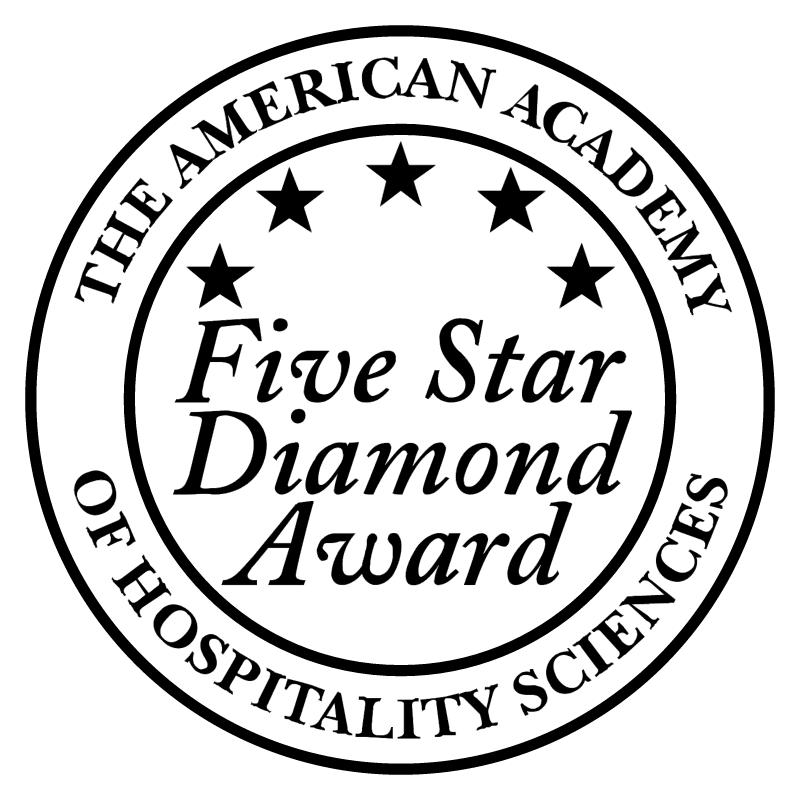 Five Star Diamond Award vector
