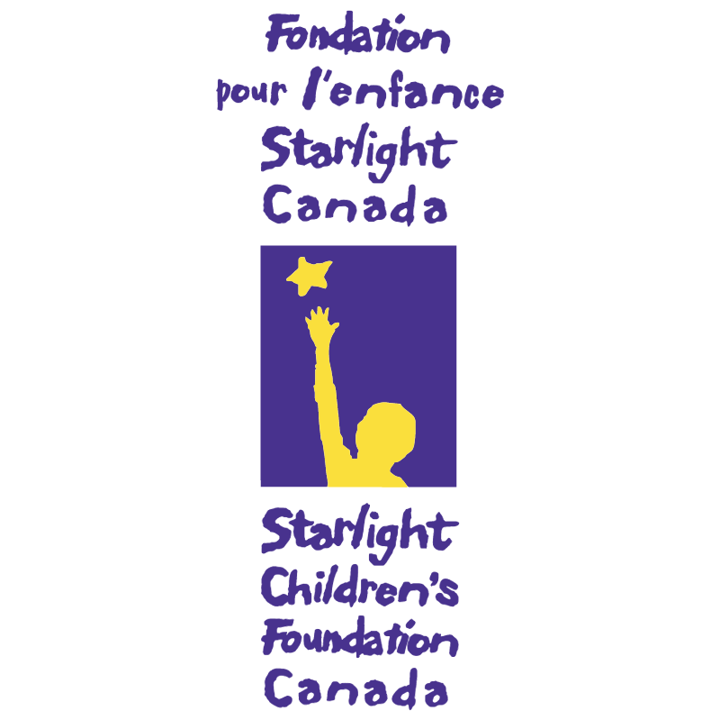 Fondation pour lenfance Starlight Canada vector