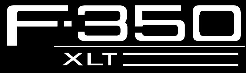 FORD F 350XLT vector logo