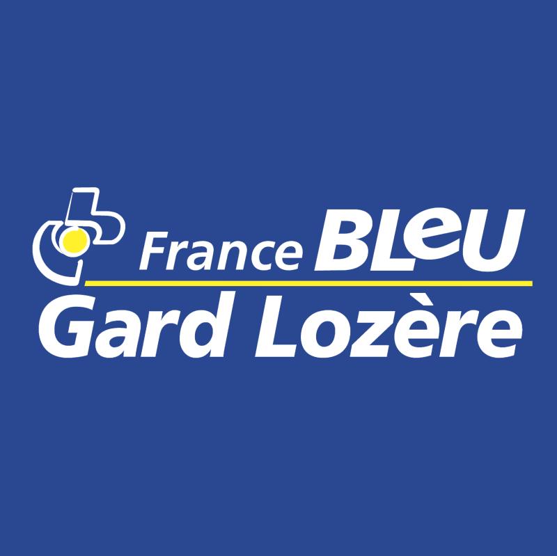 France Bleue Gard Lozere vector