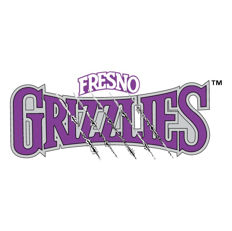 Fresno Grizzlies vector logo