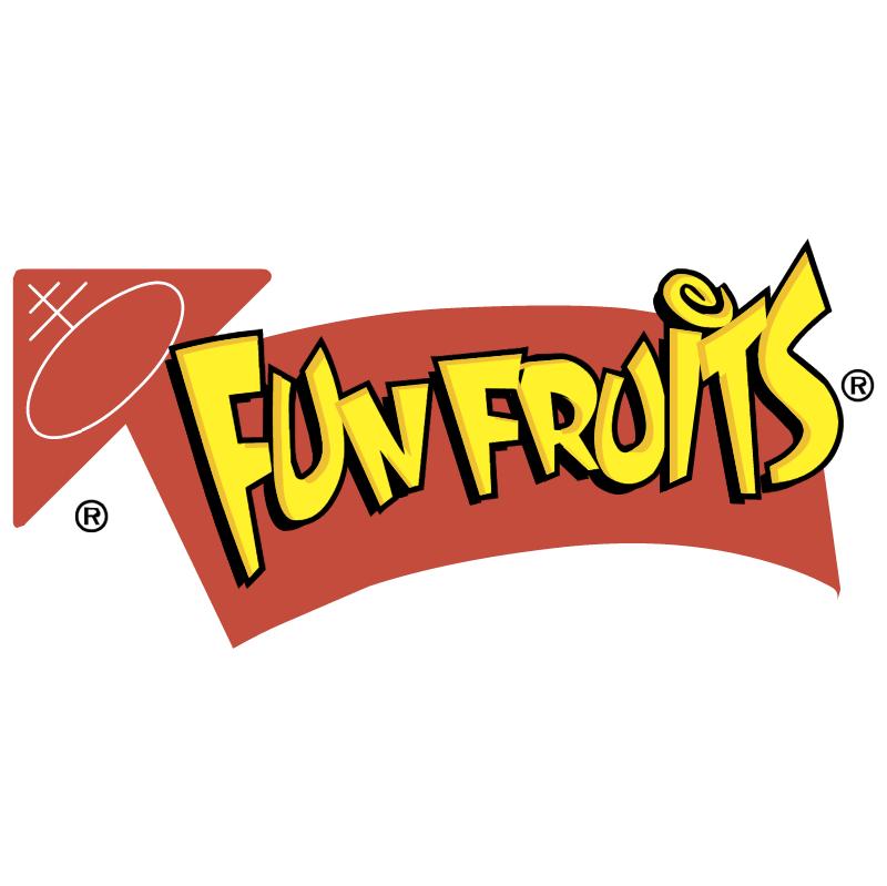 Fun Fruits vector logo