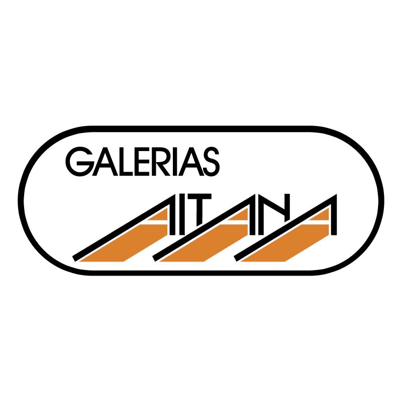 Galerias Aitana vector logo