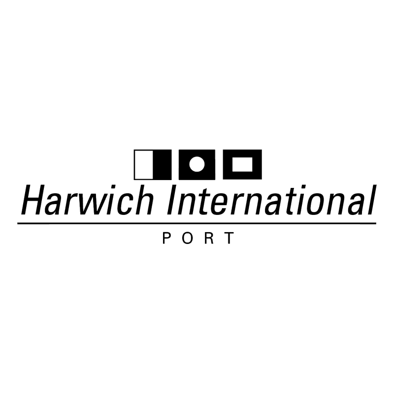 Harwich International Port vector
