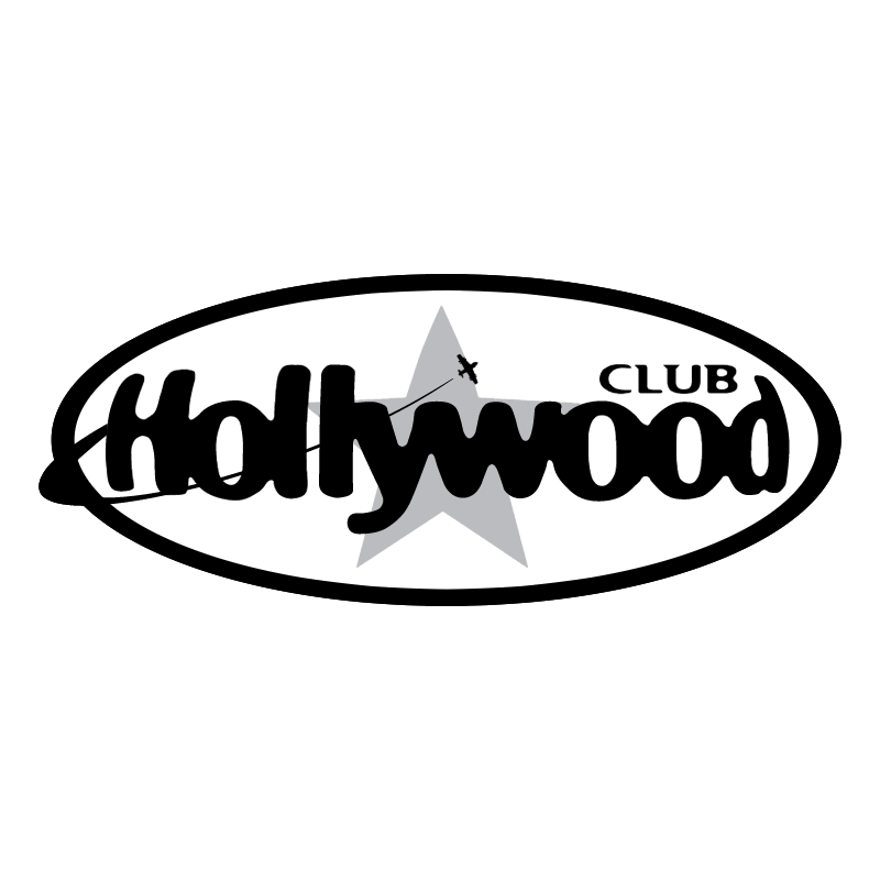 Hollywood Club vector