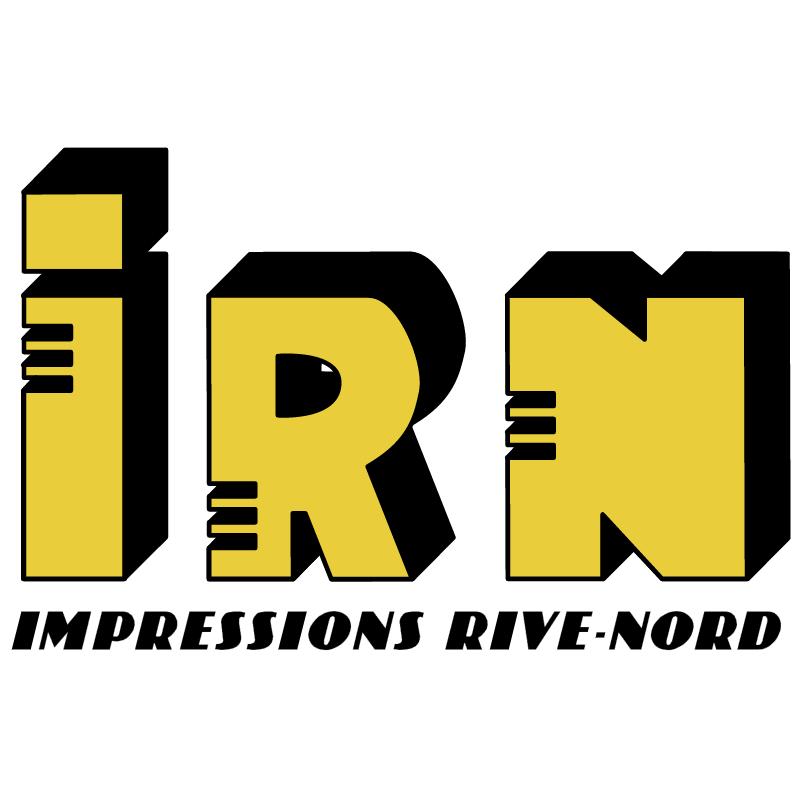 Impressions Rive Nord vector logo