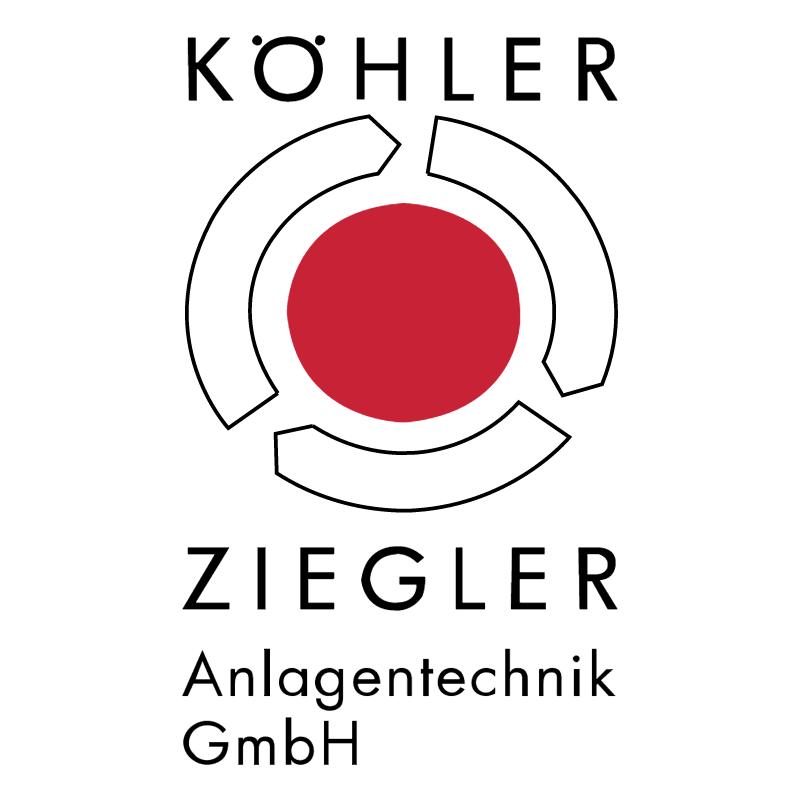 Kohler Ziegler vector logo