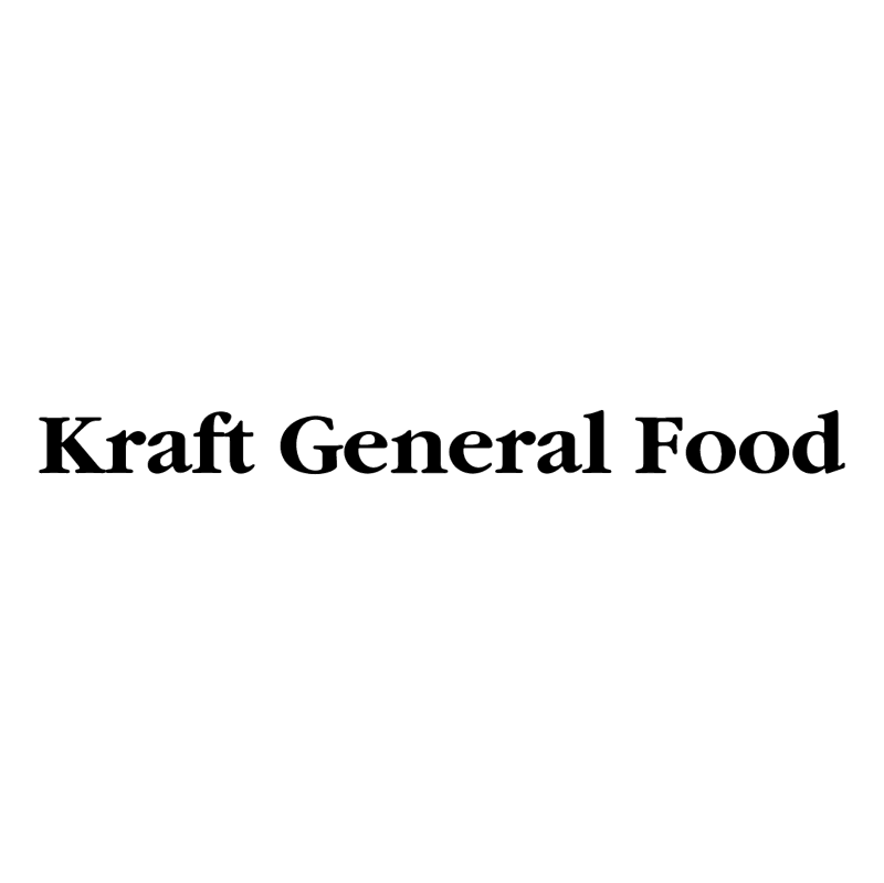 Kraft General Food vector