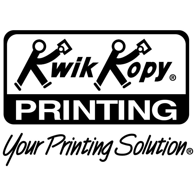 Kwik Kopy vector