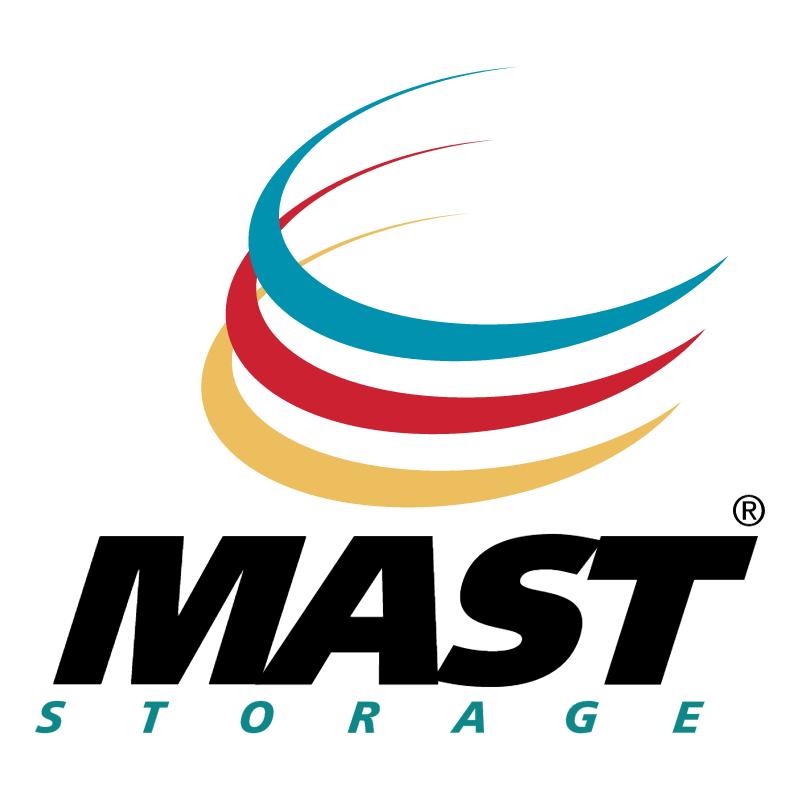 Mast Storage vector logo