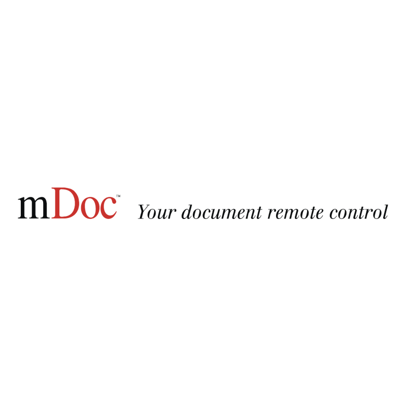 mDoc vector logo