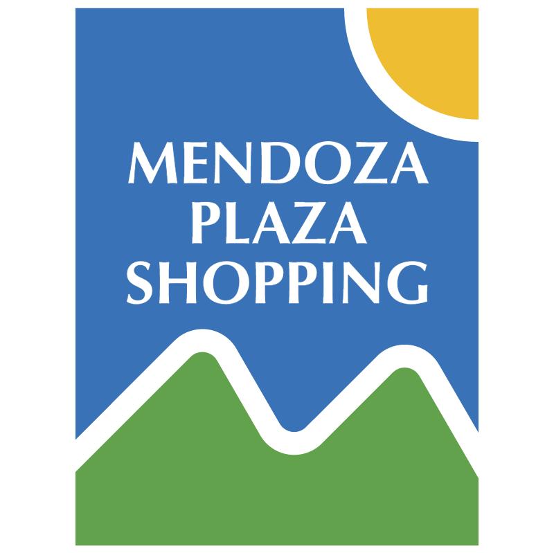 Mendoza Plaza Shopping vector