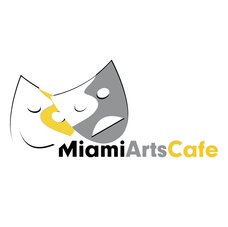 Miami Arts Cafe vector