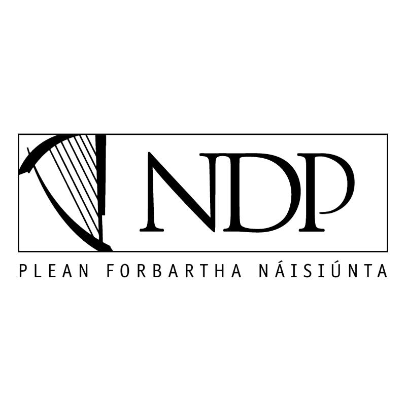 NDP vector logo