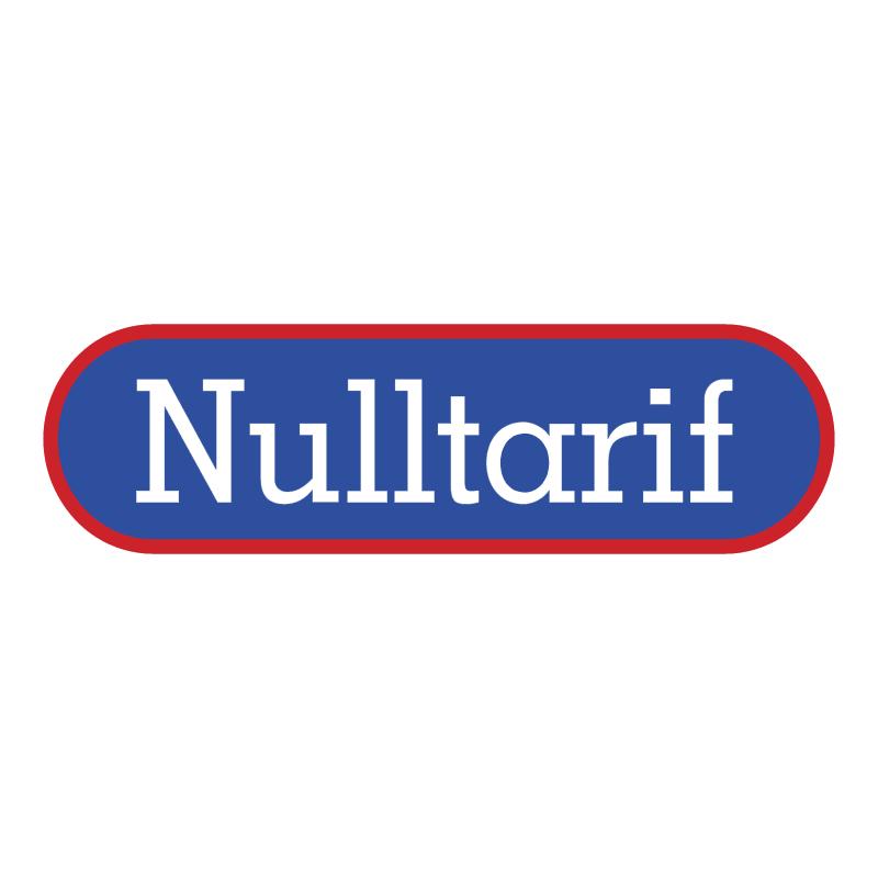 Nulltarif vector logo