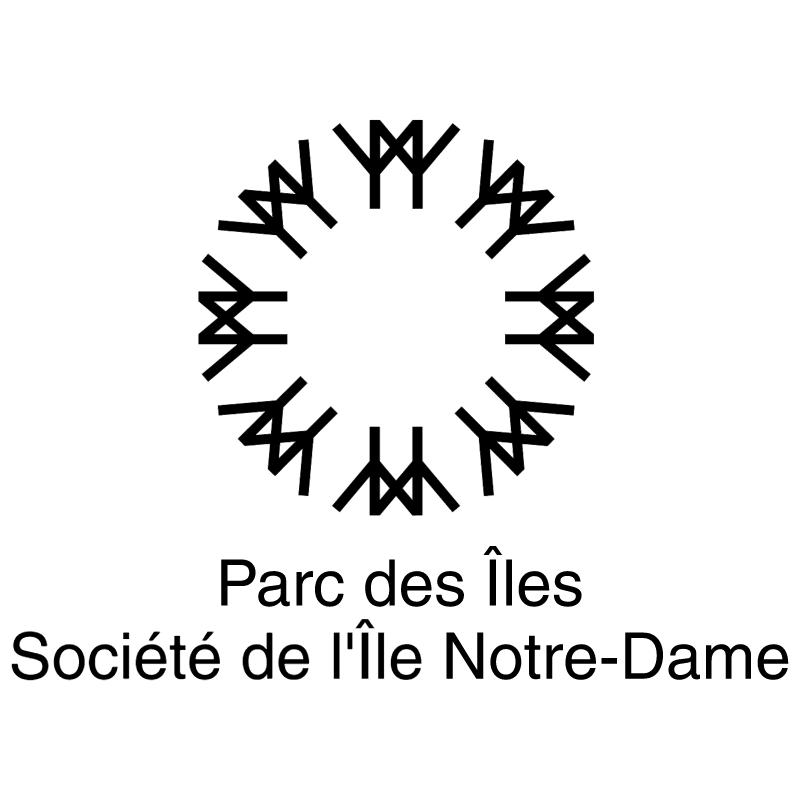 Parc des Iles Societe de Ile Notre Dame vector