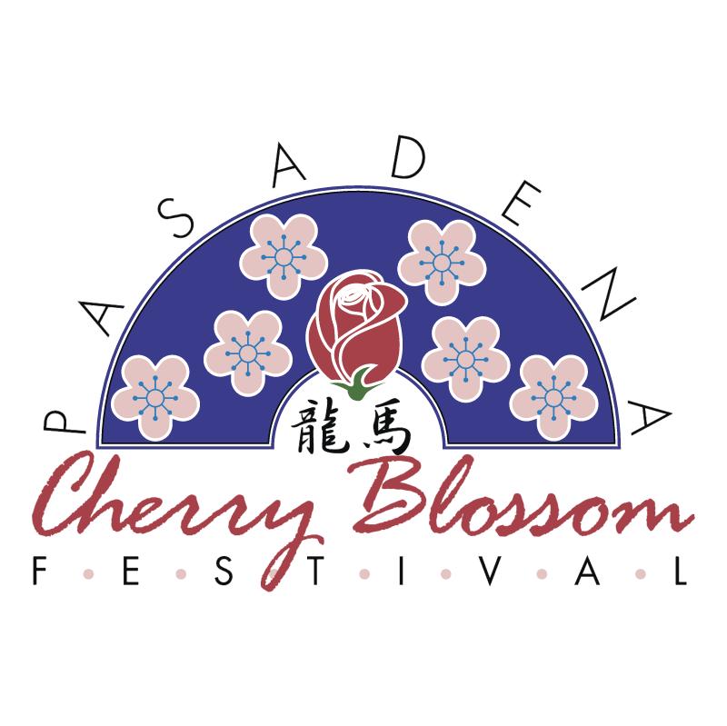 Pasadena Cherry Blossom Festival vector